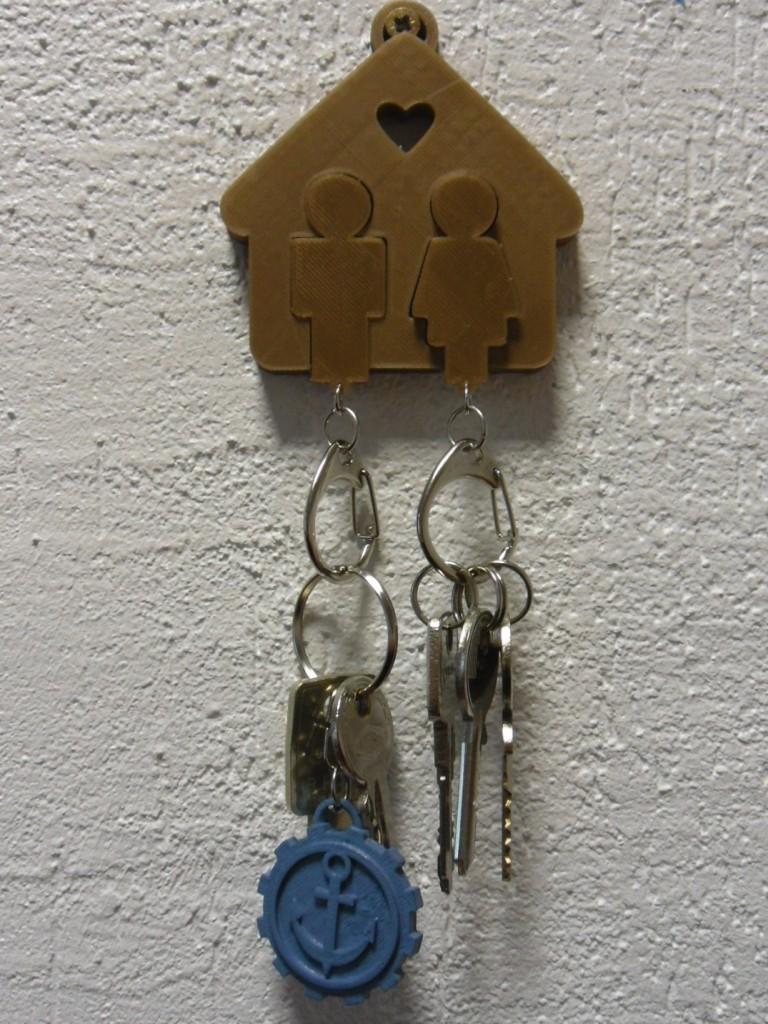 Une maison porte clefs pour les amoureux