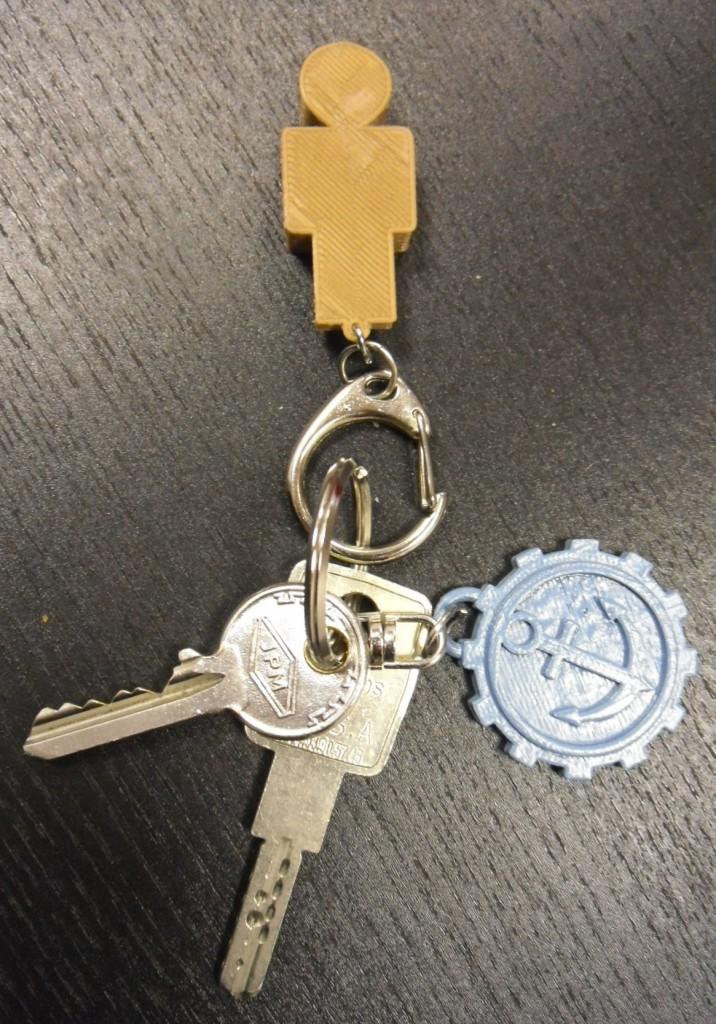 Porte clefs de Monsieur