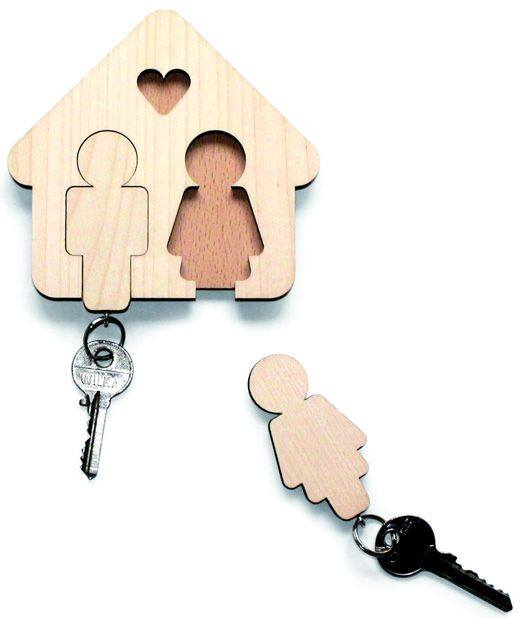 Porte-clefs Monsieur / Madame