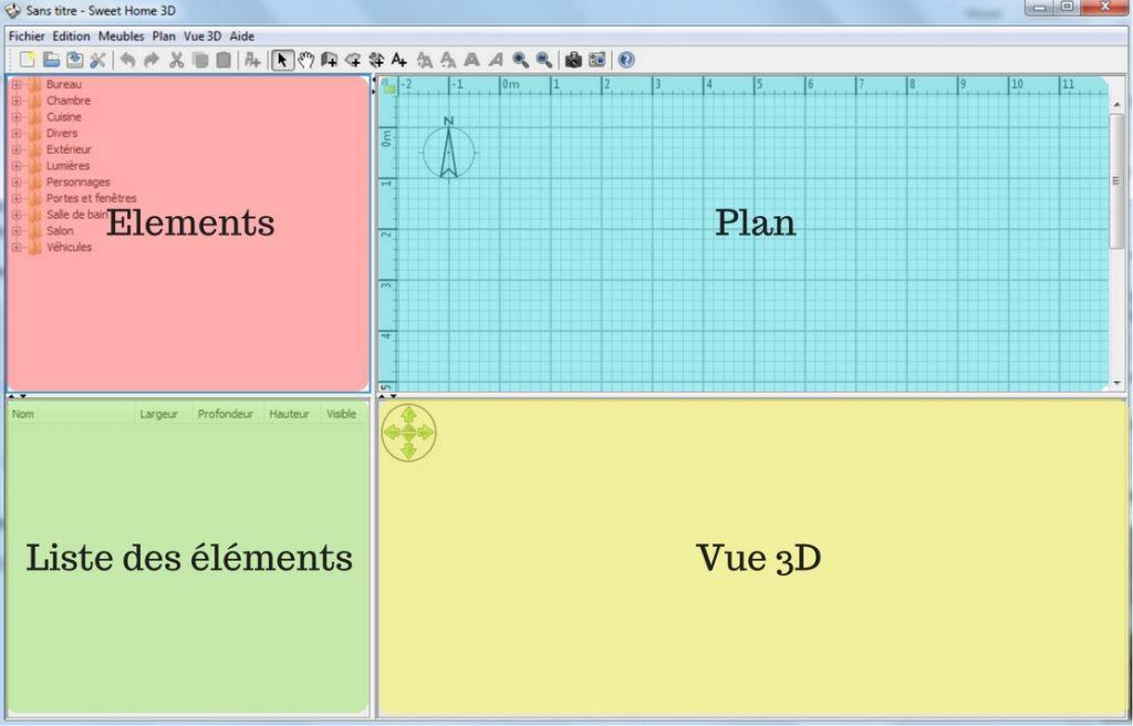 Sweet Home 3D tuto(1)