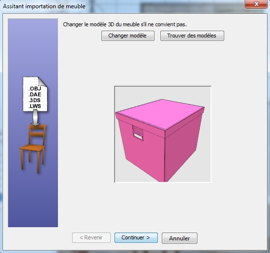 Mod liser un local en 3d avec sweet home 3d projets et for Meuble sweet home