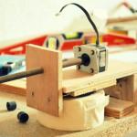 Le projet mini-CNC en cours de réalisation