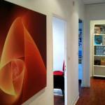 L'espace coworking : postes de travail et salle de réunion !