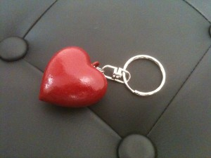 Porte-clef « Love you »