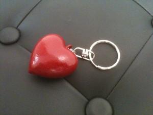 Porte-clef «Love you»