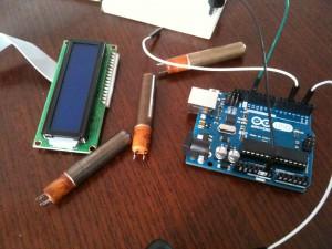 Compteur Geiger Arduino