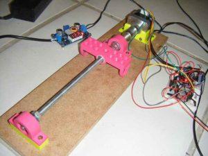 Axe piloté par Arduino