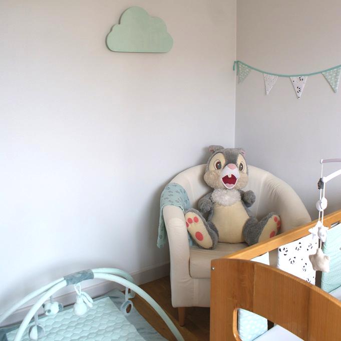Veilleuse enfant nuage diy cnc arduino décoration peinture craie loisirs créatifs numériques tutoriel pas à pas