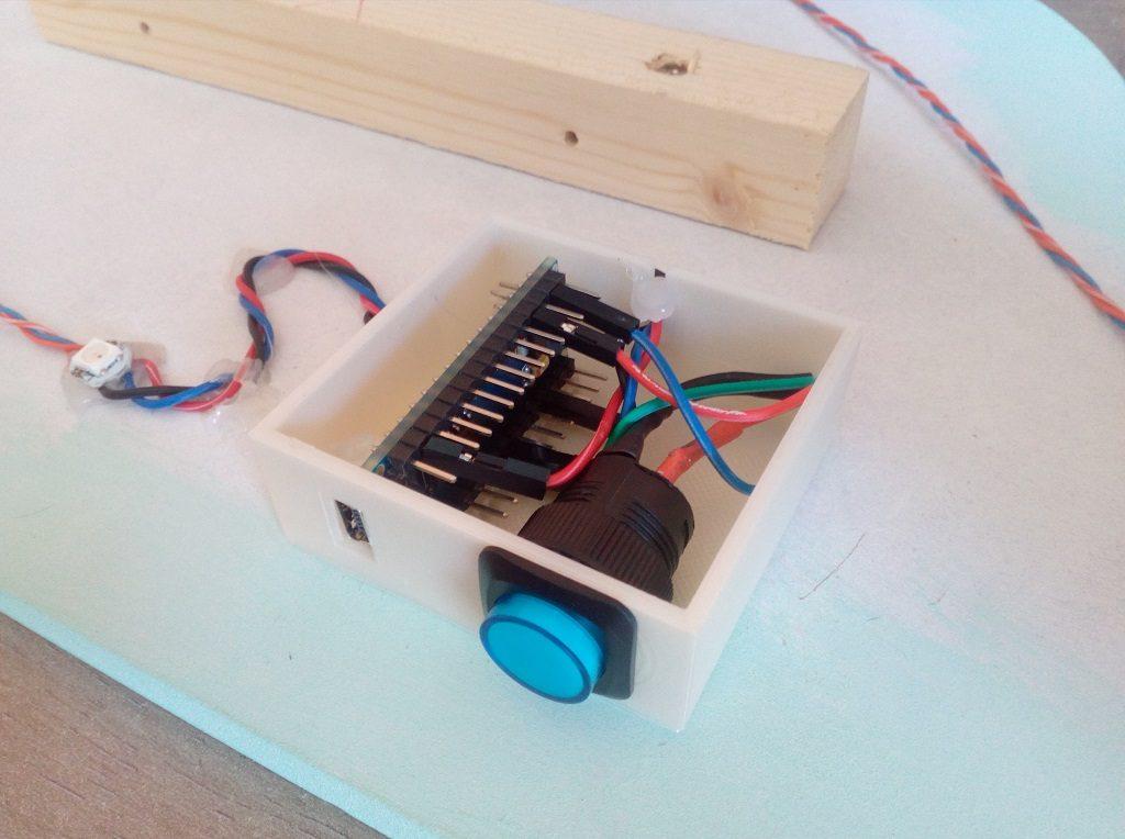 veilleuse nuage Arduino boitier imprimé 3D tutoriel navlab